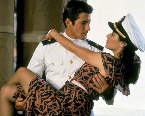 Richard Gere, Debra Winger,